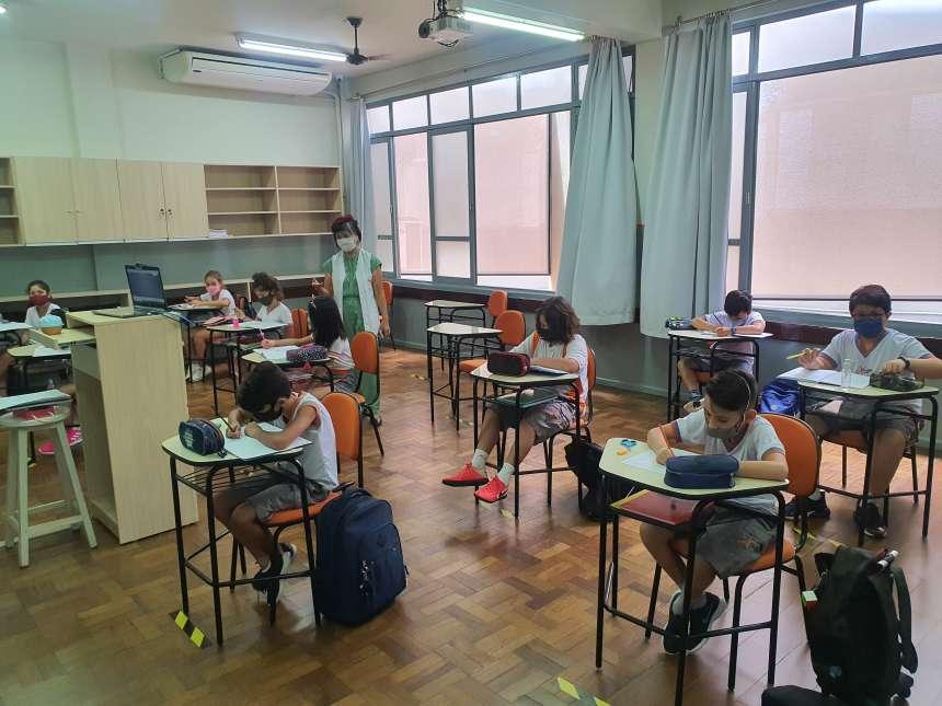 Voltamos com as aulas presenciais!