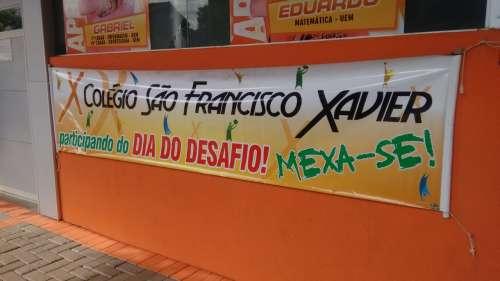 Colégio São Francisco Xavier participa do Dia do Desafio
